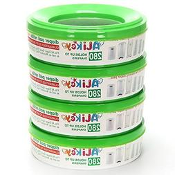 Diaper Pail Refills for Genie and Munchkin Pails 4-6 Months