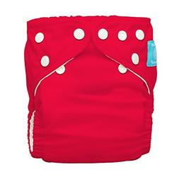 Charlie Banana Diaper Plus 2 Inserts, Red