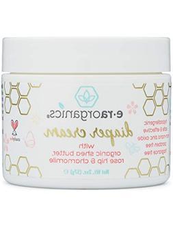 Diaper Rash Cream Natural & Organic – Extra Soothing Zinc