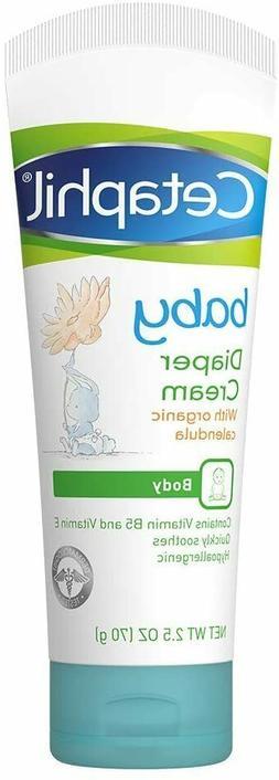 Cetaphil Baby Diaper Rash Relief Cream, 2.5 oz