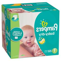 diaper size 1pampers 252 count disposable baby