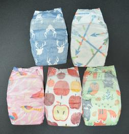 HONEST DIAPERS 5 PACK reborn doll & baby Fall 2018 LE forest
