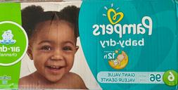 Pampers Baby Dry Diapers Size 6 Giant Pack, 96 ea