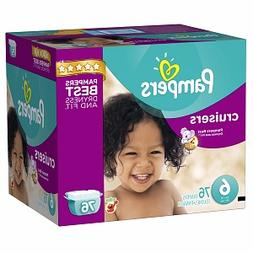 Pampers Cruisers Diapers Size 6 Giant Pack, 76 ea