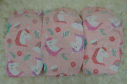 HONEST DIAPERS 6 PACK for dolls & NEWBORN babies UNICORNS ra