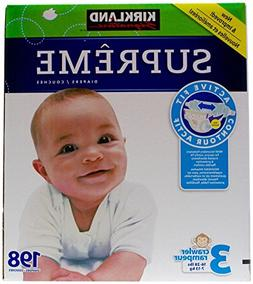 Kirkland Diapers - Size 3-198 ct