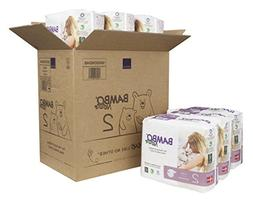 Bambo Nature Premium Baby Diapers, Size 2, 180 Count