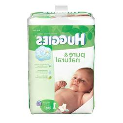 Huggies Pure & Natural Diapers - Size 1 - 80 ct