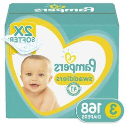 swaddlers diapers size 3 168 count