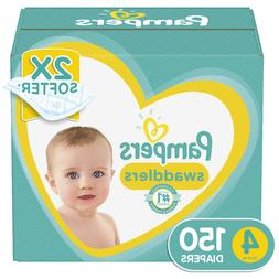Diapers Size 4 150 Count Pampers Swaddlers Pampers Diapers