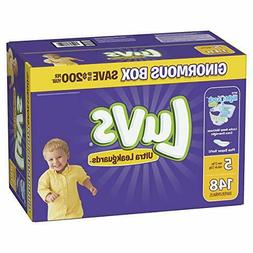 Diapers Size 5, 148 Count - Luvs Ultra Leakguards Disposable