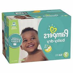 Diapers Size 5 164 Count Baby Dry Disposable Baby Diapers ON