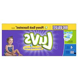 Luvs Diapers Ultra Leakguards With Night Lock Size 4 22-37 l