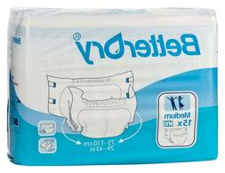 BetterDry Discreet Overnight Heavy Incontinence Briefs Adult
