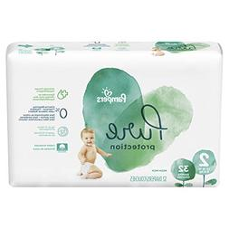 Pampers Pure Disposable Baby Diapers, Hypoallergenic and Fra