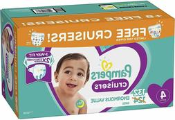 Disposable Diapers Size 4 132 Count Pampers Cruisers