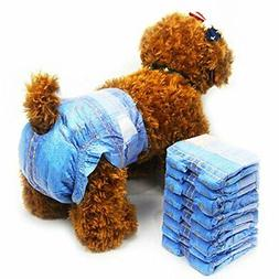 Disposable Dog Diapers for Female Dogs - Dono Jeans Super Ab