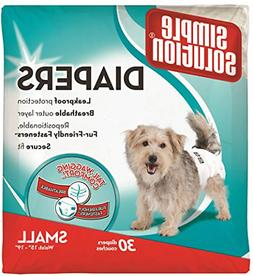 Simple Solution Disposable Dog Diapers for Female Dogs   Sup