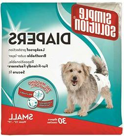 Simple Solution Disposable Dog Diapers for Female Dogs | Sup