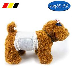 DONO Disposable Doggie Diapers MaleDogWraps Puppy Diaper