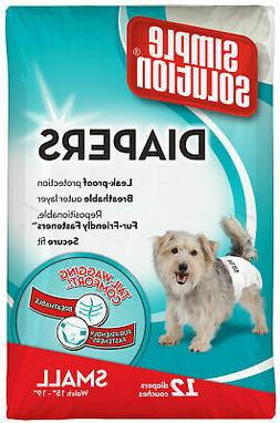 Disposable Female Dog Diapers for Small Dogs  Super Absorben