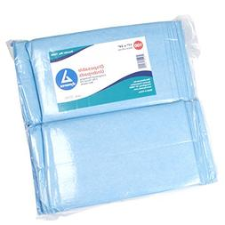 Dynarex Disposable Underpads 17 x 24 - Tissue Fill  3/100/Cs