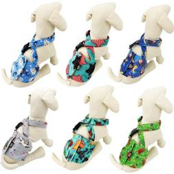 Dog BELLY BAND Wrap Diaper Male Reusable SUSPENDERS Fleece S