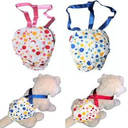 Dog Cat Diaper Female Girl Sanitary Pants Suspenders Stay On