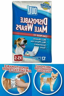 Dog Diapers Reusable Belly Band Waterproof For Male Dogs Lea