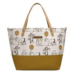 Petunia Pickle Bottom Downtown Tote, Winnie The Pooh and Fri