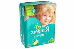 Pampers Baby Dry Diapers Size 6 21 CT
