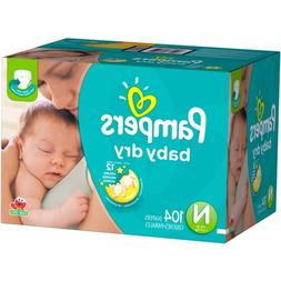 Pampers Baby Dry Diapers, Super Pack