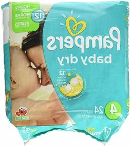 Pampers Baby Dry Diapers - Size 4 - 24 ct
