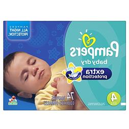 Pampers Baby-Dry Extra Protection Disposable Diapers Size 4,