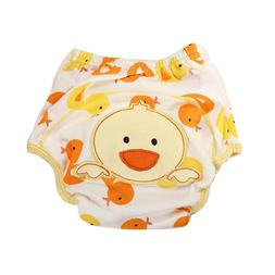 Duck Pattern Waterproof Clothes Diaper Cover Diaper Pants fo