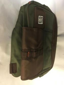 Dude Dad Diaper Bag Green Amd Brown