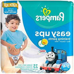 Pampers Easy Ups Training Pants Boys Size 5 30-40 LBS 23 Eac