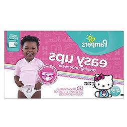 Pampers Easy Ups Training Underwear Girls 4T-5T , 120 Count