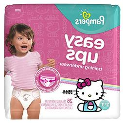 Pampers Easy Ups Training Underwear for Girls, Size 4 2T-3T