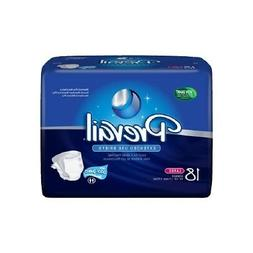 Prevail Extended Use Diaper Brief L Daytime / Overnight NTB-