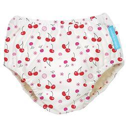 Charlie Banana Extraordinary Swim Diaper, Cherries, Medium