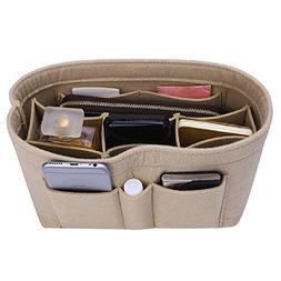 Felt Insert Bag Organizer Bag In Bag For Handbag Purse Organ