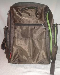Fisher Price Deluxe Sporty Diaper Backpack - Brown