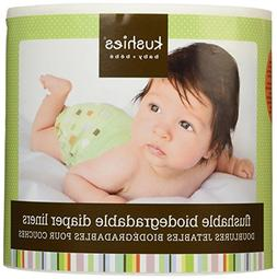 Kushies 6 Count Flushable Biodegradable Diaper Liners