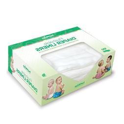 Bumkins Flushable Diaper Liners 100 count,Neutral