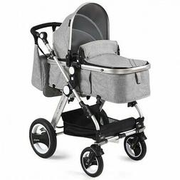 Folding Aluminum Baby Stroller Baby Jogger with Diaper Bag-G