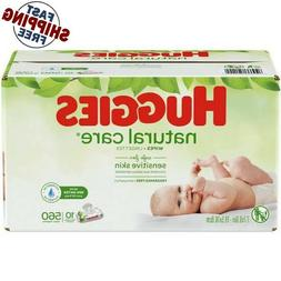 Free Shipping - Huggies Wipes Natural Care Baby Wipes - 560