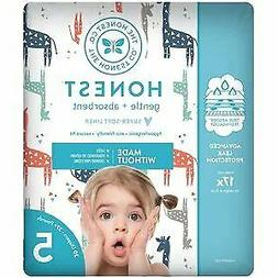 The Honest Company Gentle & Absorbent Diapers, Size 5, 20 co