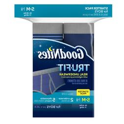 GOODNITES Tru-Fit Real Underwear with Nighttime Protection S