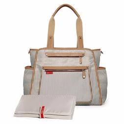 Skip Hop Grand Central Take-It-All Diaper Bag French Stripe